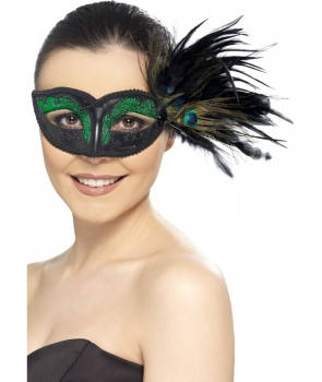 Masca de carnaval colombina