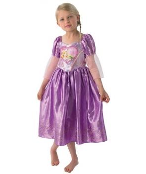 Costum carnaval fete Rapunzel de luxe