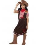 Costum carnaval fete cowgirl cu palarie