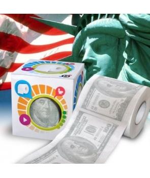 Hartie igienica cu dolari