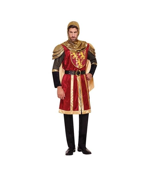 Costum carnaval barbati Rege Cruciat