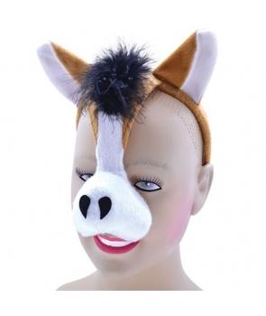 Masca de cal cu sunet