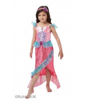 Costum carnaval fete sirena roz