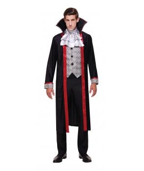 Costum Halloween barbati ducele vampir