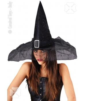Palarie vrajitoare eleganta Halloween