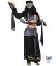 Costum carnaval femei belly dancer negru cu gri