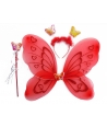 Set fluture rosu