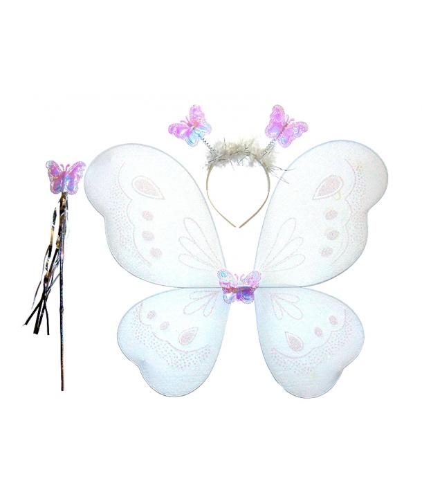 Aripi fluture alb