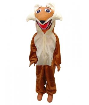 Costum carnaval copii vulpe model 3
