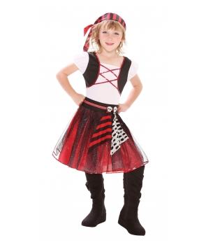 Costum carnaval fete pirata model 1