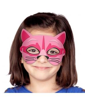 Masca pisica roz