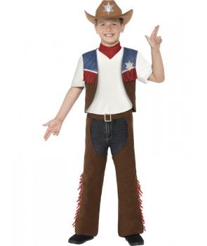 Costum carnaval baieti cowboy texan