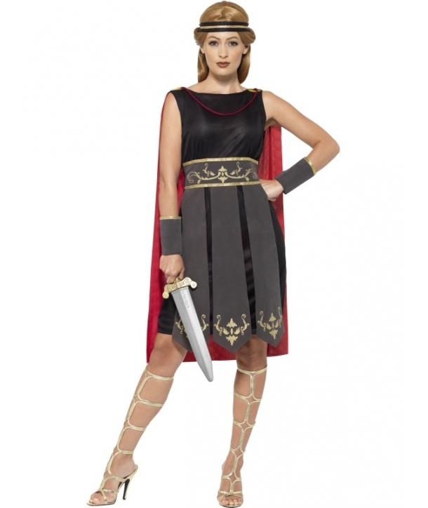 Costum carnaval femei luptatoare romana