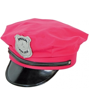 Palarie politista roz
