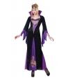 Costum Halloween femei vrajitoare mov