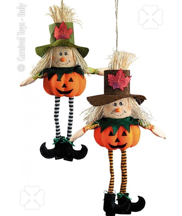 Decor dovleac cu sfoara Halloween