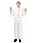 Costum carnaval barbati cardinal alb