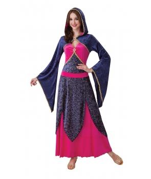 Costum Halloween femei vrajitoare magica