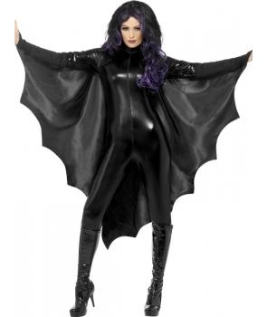 Aripi Halloween negre liliac vampir