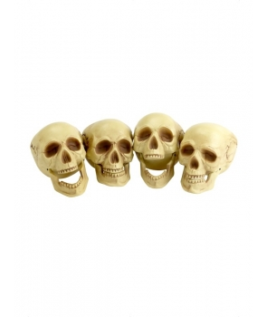 Decor craniu culoare naturala Halloween