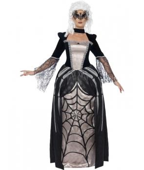 Costum Halloween femei baroana intunecata