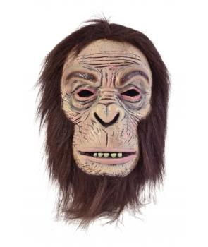 Masca horror gorila maro