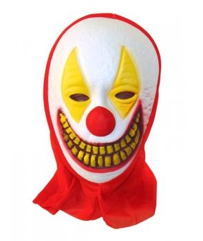 Masca Halloween clovn cu dinti