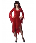 Costum Halloween femei rosu