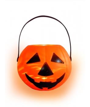 Cosulet Halloween dovlecel cu lumini