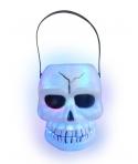 Cosulet Halloween schelet cu lumini