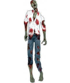 Decor Halloween zombie