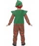 Costum Craciun copii spiridus cu dungi