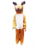 Costum Craciun copii ren Rudolf model 1