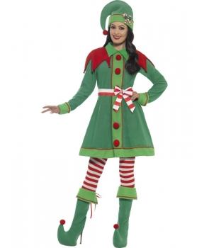 Costum Craciun femei Spiridusa clasic