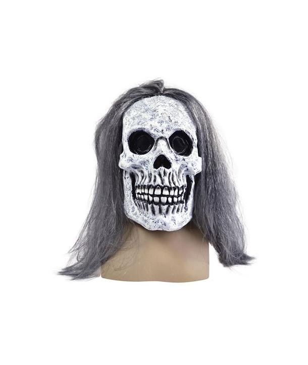 Masca horror schelete cu par