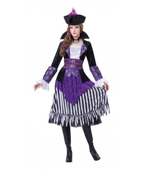 Costum carnaval femei regina pirat
