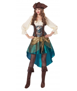 Costum carnaval femei printesa pirat