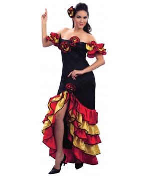 Costum carnaval femei dansatoare rumba