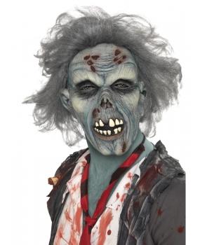 Masca horror zombie cu par