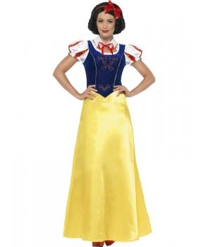 Costum carnaval femei printesa piticilor Alba ca zapada