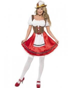 Costum carnaval femei bavareza Ocktoberfest