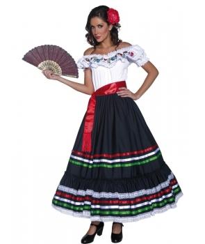 Costum carnaval femei mexicana