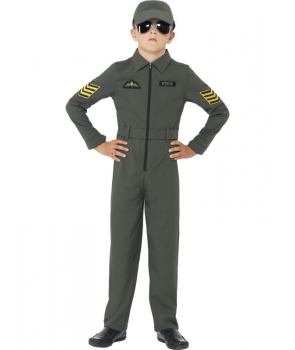 Costum carnaval baieti aviator