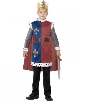 Costum carnaval baieti rege Arthur