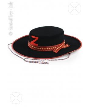 Palarie Zorro copii cu rosu
