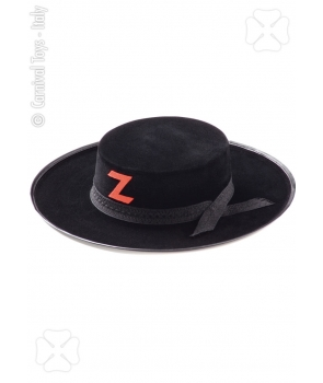 Palarie Zorro adulti cu rosu