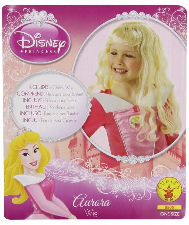 Peruca petrecere copii Aurora Frumoasa Adormita