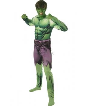 Costum carnaval adulti Hulk cu licenta nou