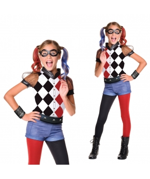 Costum carnaval fete Harley Quinn