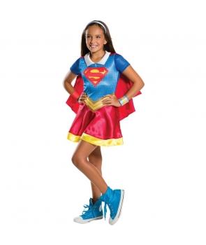 Costum carnaval fete Supergirl nou